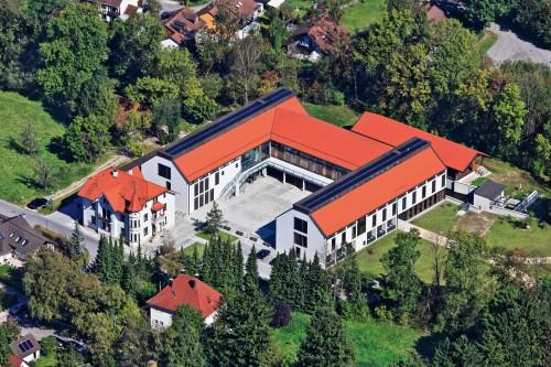 Luftaufnahme vom Kulturzentrum Seidlmühle