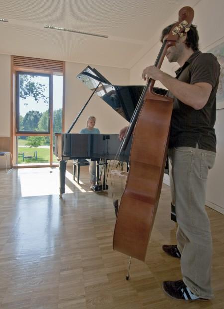 Unterrichtsraum der Musikschule