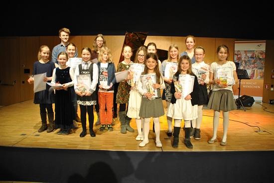 Preisträger Musikwettbewerb