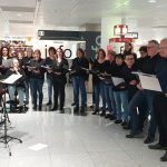 Singalong Chor am Flughafen München – 16.12.2019